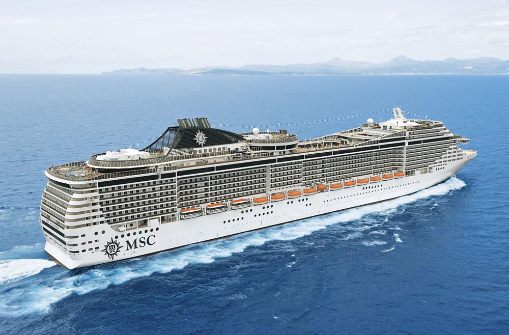 Barco MSC Splendida - MSC Cruceros