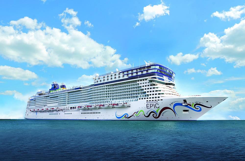 Barco Norwegian Epic - NCL Norwegian Cruise Line