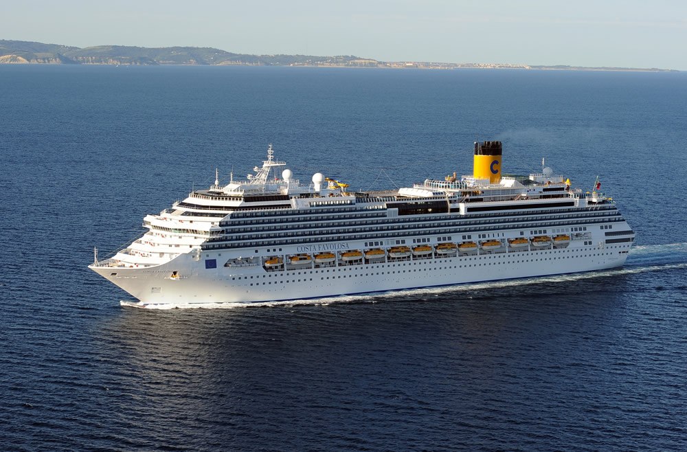 Barco Costa Favolosa - Costa Cruceros