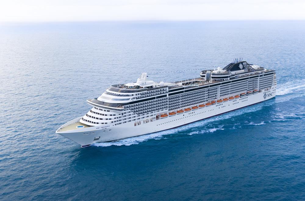 Barco MSC Preziosa - MSC Cruceros