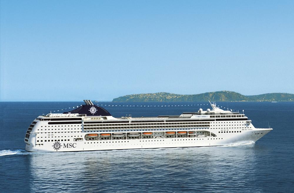 Barco MSC Opera - MSC Cruceros