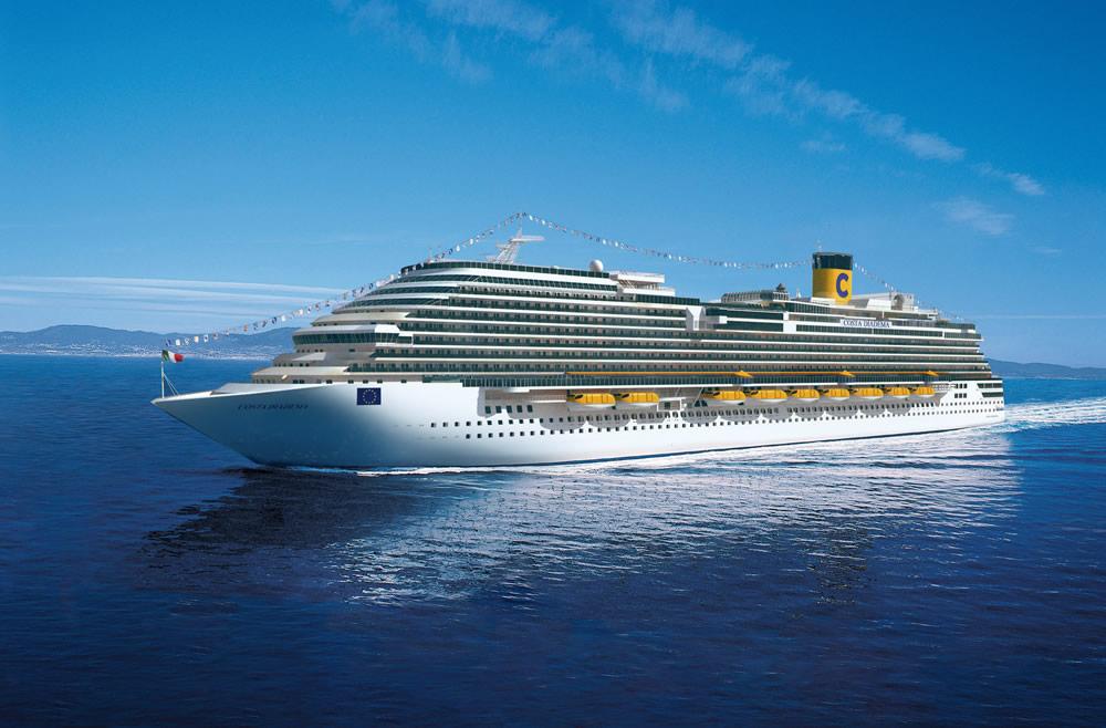 Barco Costa Diadema - Costa Cruceros