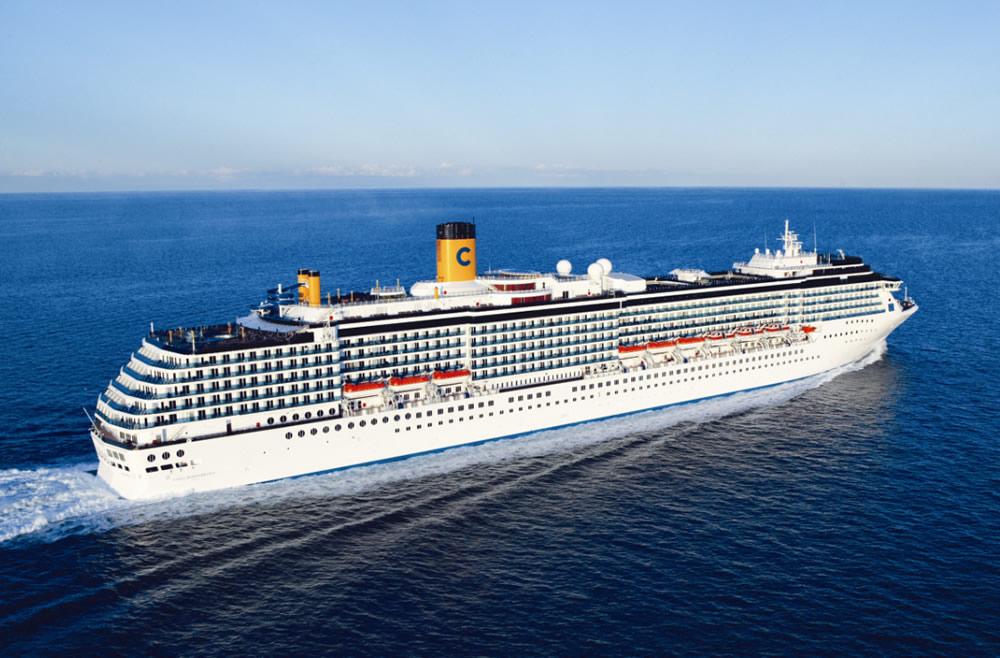 Barco Costa Mediterranea - Costa Cruceros