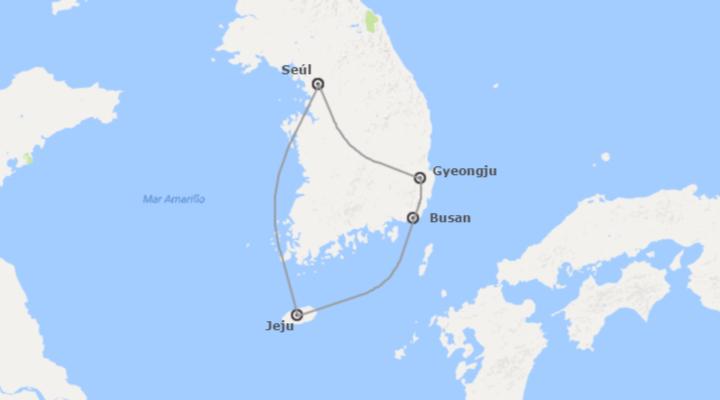 Corea del Sur: De Seúl a Jeju
