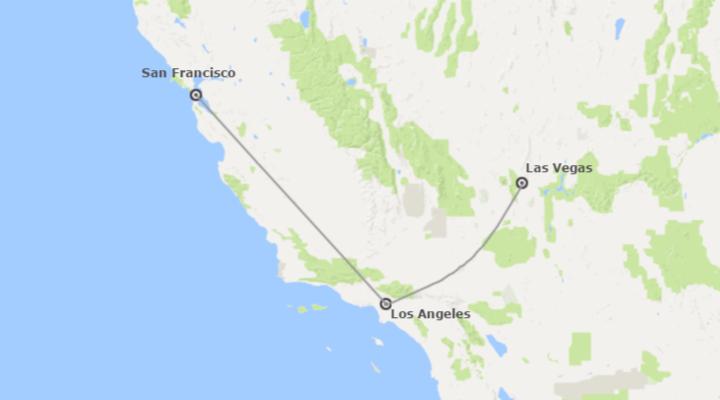 EEUU: Las Vegas, Los Ángeles y San Francisco
