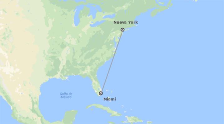 EEUU: Nueva York y Miami