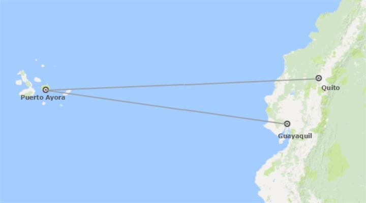 Quito, Galápagos y Guayaquil Esencial