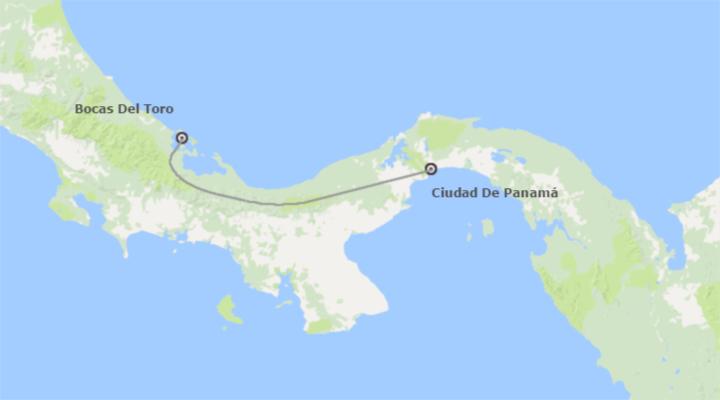 Panamá: Ciudad de Panamá y Bocas de Toro