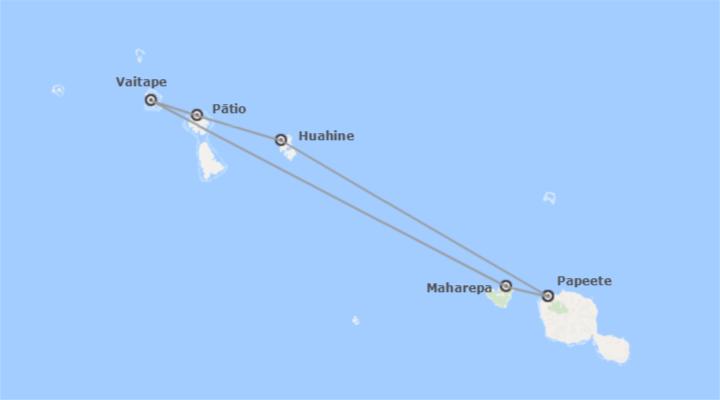 Polinesia: Paul Gauguin: Islas de la Sociedad