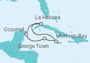 Novios 2017 Itinerario del Crucero En busca de los bucaneros - MSC Cruceros