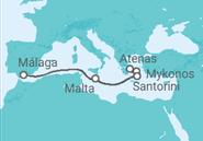 Itinerario del Crucero Rumbo a las Islas Griegas - Pullmantur