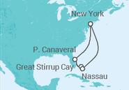 Novios 2017 Itinerario del Crucero Florida y Bahamas - NCL Norwegian Cruise Line