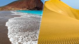 chollo vacaciones en Islas Canarias: Gran Canaria y Tenerife