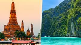 chollo vacaciones en Tailandia: Bangkok y Phuket