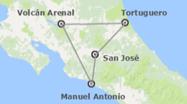 chollo vacaciones en Costa Rica: Tortuguero, Arenal y Manuel Antonio