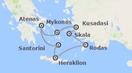 Busca Chollos en Grecia: Atenas y Crucero de 4 días