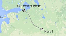 Busca Chollos en Rusia: Moscú y San Petersburgo tren diurno