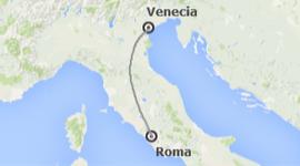 chollo vacaciones en Italia: Roma y Venecia en tren