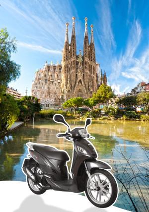 Alquila una moto en Barcelona
