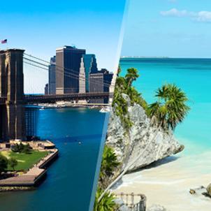 Chollos Viajes baratos a EEUU y México: Nueva York y Riviera Maya
