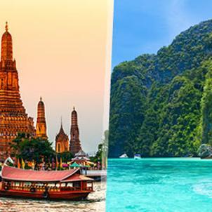 Viajes baratos desde MálagaTailandia: Bangkok y Phuket