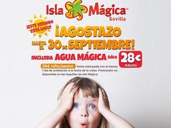 chollo vacaciones en Isla Mágica