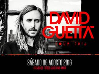 Chollos última hora David Guetta - Tour 2016