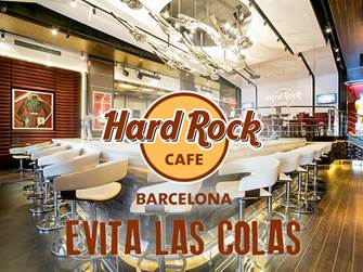 Busca un Chollo en Evita las colas - Hard Rock Cafe Barcelona