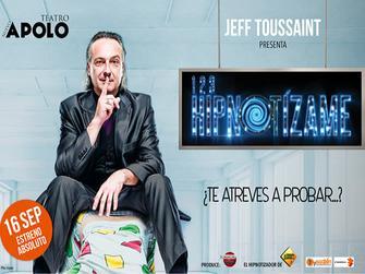 chollo vacaciones en Jeff Toussaint Presenta 1 2 3 Hipnotizame