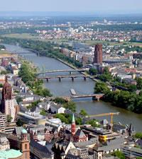 Frankfurt: la ciudad alemana de los los rascacielos