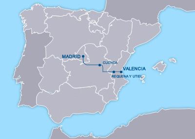 AVE Madrid Valencia