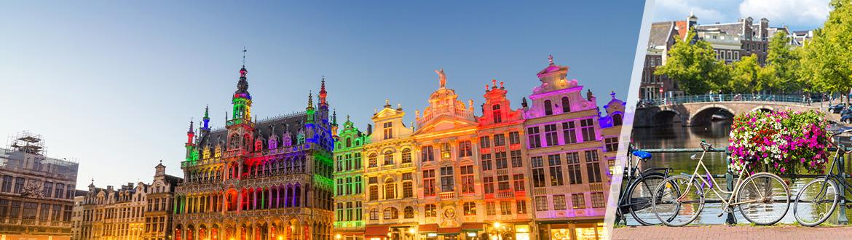 Combinado Bruselas y Amsterdam