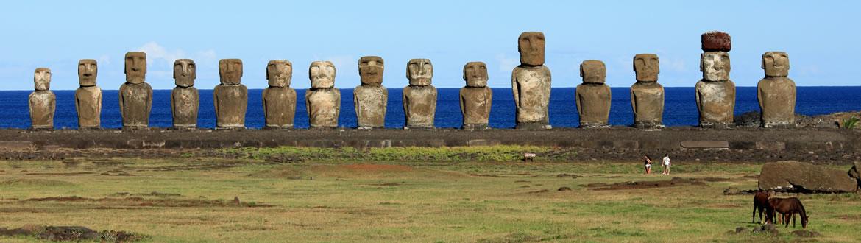 Rapa Nui Chile Maravillas del Mundo en 2019