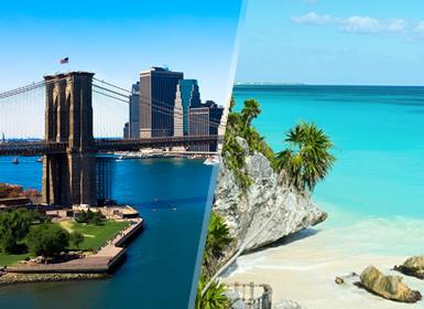 Viajes Costa Este, EEUU y México 2019-2020: Combinado Nueva York y Riviera Maya