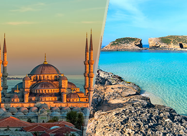 Viajes Turquía y Malta 2019: Estambul y Malta en avión