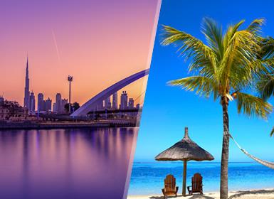 Viajes Emiratos Árabes, Isla Mauricio e Islas del Índico 2019-2020: Combinado Dubái y Playas Mauricio