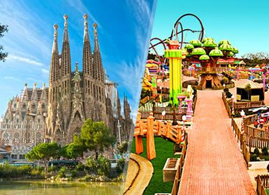Viajes Cataluña 2018-2019: Barcelona y Port Aventura