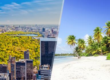 Viajes República Dominicana, EEUU y Costa Este 2019-2020: Combinado Nueva York y Punta Cana