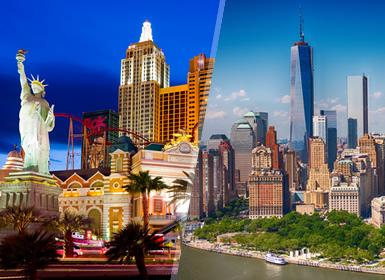 Viajes Costa Este, EEUU y Costa Oeste 2019: Combinado USA: Nueva York y Las Vegas a tu aire