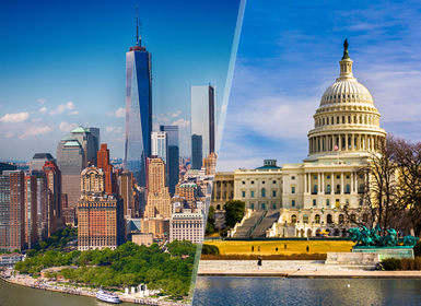 Viajes Costa Este y EEUU 2019: Combinado USA: Nueva York y Washington