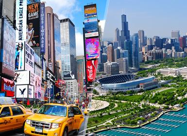 Viajes Costa Este EEUU y EEUU 2019: Combinado Nueva York y Chicago en Estados Unidos