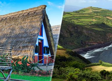 Viajes Portugal 2018-2019: Madeira y San Miguel en avión
