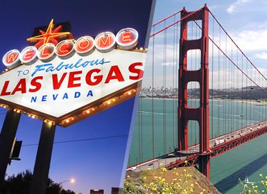 Viajes EEUU y Costa Oeste 2019-2020: Combinado Oeste: Las Vegas y San Francisco
