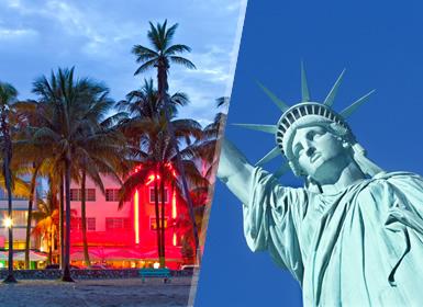 Viajes EEUU y Costa Este 2019-2020: Nueva York y Miami, Combinado Este Usa