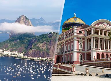 Viajes Brasil 2019: Combinado Brasil: Río de Janeiro y Manaos