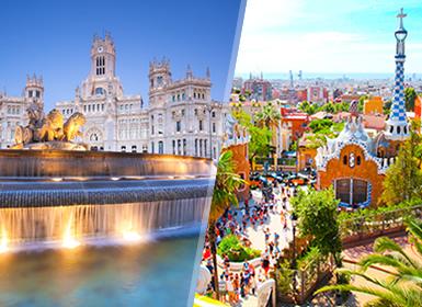 Viajes Madrid y Cataluña 2018-2019: Madrid y Barcelona en tren