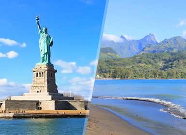 Viajes Tahiti, Costa Este EEUU, EEUU y Polinesia Francesa 2019: Viaje Nueva York y Tahití (Polinesia Francesa)