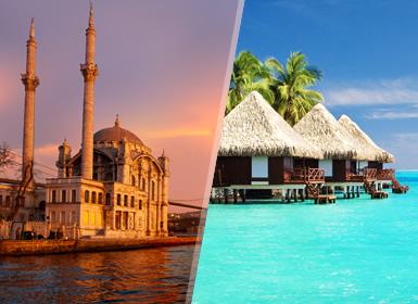 Viajes Maldivas, Turquía e Islas del Índico 2019-2020: Viaje Estambul y Playas de Maldivas