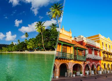 Viajes Colombia 2019: Combinado Colombia: Cartagena de Indias y San Andrés