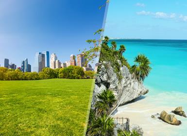 Viajes EEUU, Costa Este EEUU y México 2019: Combinado Nueva York y playas de Cancún (México)
